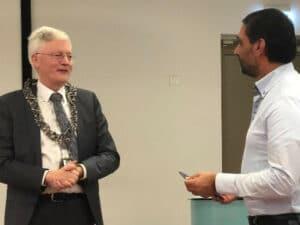 Bezoek Burgemeester Theo Weterings